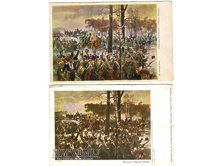Bitwa pod Olszynką grochowską.