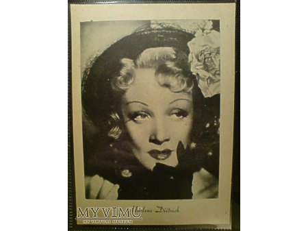 Marlene Dietrich Marlena pocztówka 1946