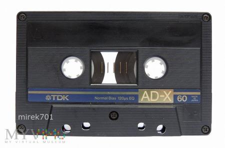 TDK AD-X 60 kaseta magnetofonowa