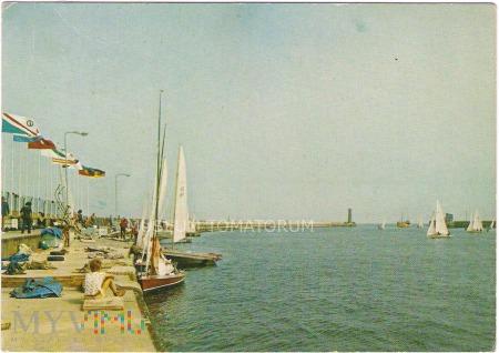 Władysławowo - Port - 1978
