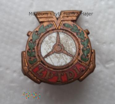 ZPTDL odznaka emaliowana na śrubę
