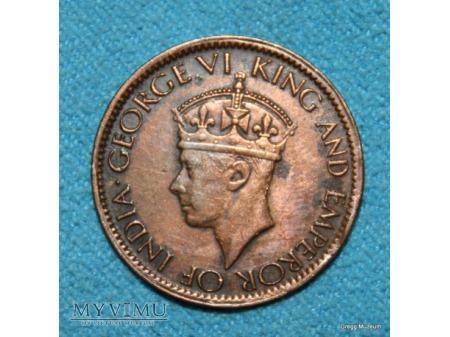 1 cent cejloński 1945