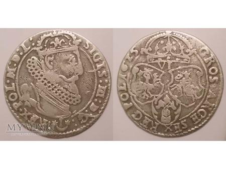 1625 szóstak koronny Zygmunt III Waza Kopicki 1261