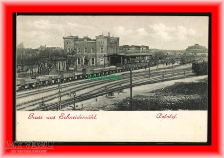 PIŁA Schneidemühl, Dworzec kolejowy