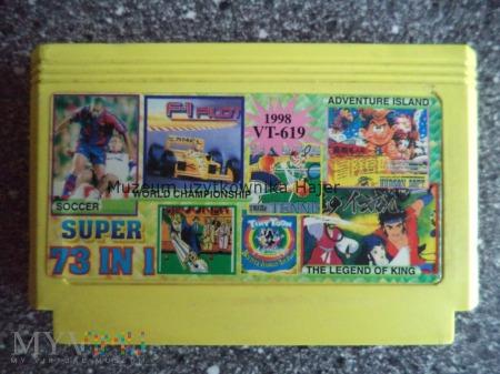 73 IN 1 SUPER 1998 Kartridż Gra Pegasus