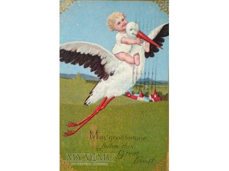 1909 Bocian i tajemnica pochodzenia dzieci