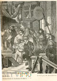 Dar królewski - mal. Łuszczkiewicz