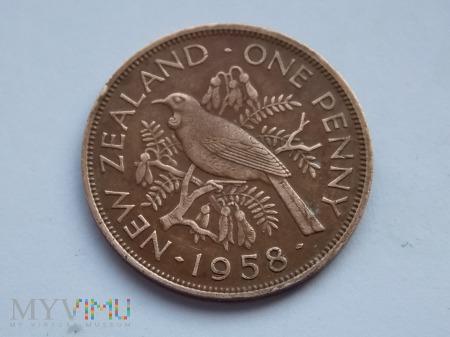 1 PENS 1958 - NOWA ZELANDIA