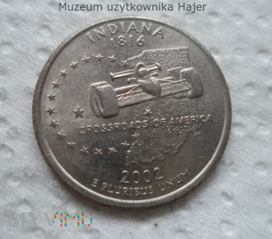 Indiana 2002 (P) Quarter Dollar