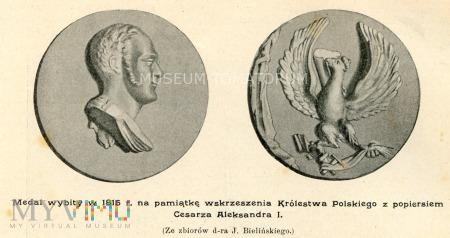 Medal z 1815 r. Królestwo Polskie