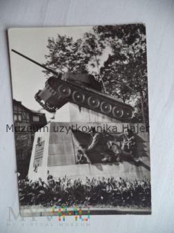 Czołg T-34 Widokówka Czechosłowacja