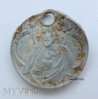 Medalik Pan Jezus i Maryja