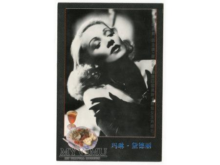 Duże zdjęcie Marlene Dietrich fotografia photo MARLENA