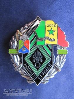 Odznaka 1REC BCH/Senegal 2010