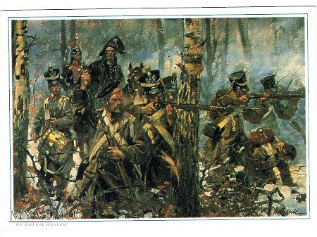Bitwa pod Olszynką Grochowską - grupa Czwartaków.