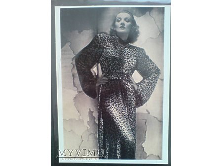 Duże zdjęcie Marlene Dietrich wg. foto G.Hurrela