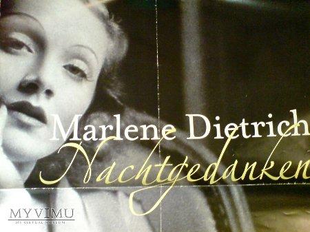 Marlene Dietrich PLAKAT Promocyjny Nachtgedanken