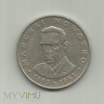 Polska 20 złotych, 1974 Marceli Nowotko
