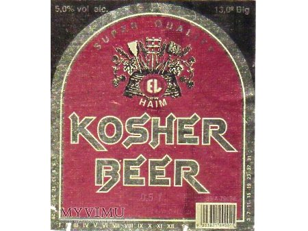 Etykieta KOSHER 38