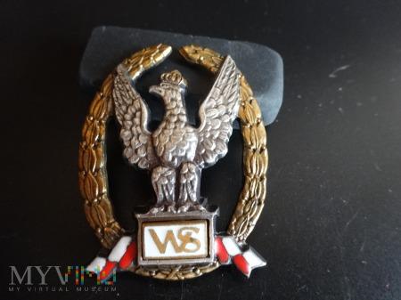 Numerowana odznaka - Wzorowy Szef Pododdziału