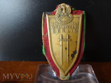 Odznaka Grunwaldzka z podkladką nr: 1