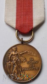 Medal Za Zasługi Dla Pożarnictwa - ZOSP brąz