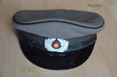 Czapka NVA DDR - Schirmmütze
