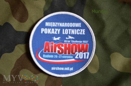 Oznaka pamiątkowa AirShow 2017