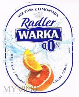 warka radler 0,0% grejpfrut z pomarańczą