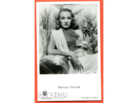 Marlene Dietrich papieros KOLIBRI nr 411