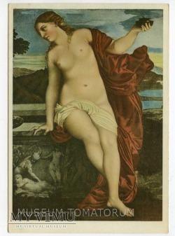 Duże zdjęcie Tycjan - Miłość niebiańska i miłość ziemska