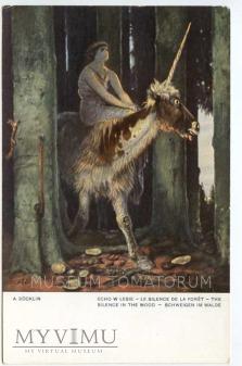 A. Bocklin - Echo w lesie