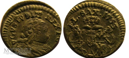 Duże zdjęcie Szeląg 1753 H August III SAS