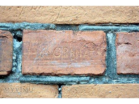 """Duże zdjęcie """"Stara Prochownia"""" - budynek A - inskrypcja #007"""
