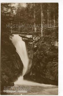 Karkonosze - Wodospad Szklarki Kochelfall 1930