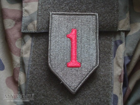 """1st Infantry Division """"Big Red One"""""""