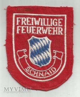 Oznaka Freiwillige Feuerwehr SCHNAID