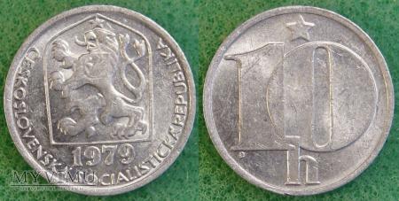 Czechosłowacja, 10 Haléřů 1979