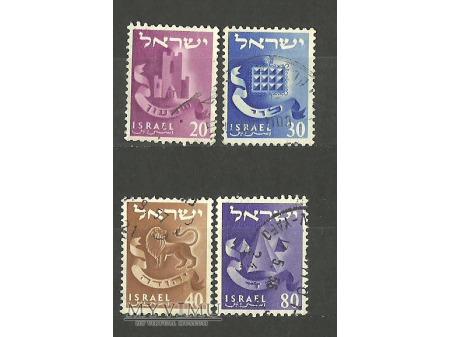 Godła pokoleń Izraela.
