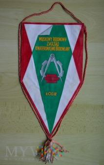Proporczyk - Zarząd Kwatermistrzowsko budowlany