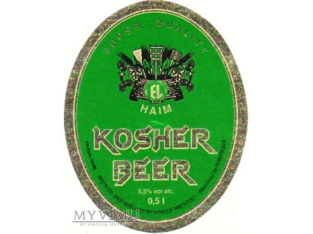 Etykieta KOSHER 39