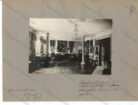 Zamoście - dwór Jelskich - salon