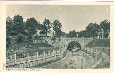 Duże zdjęcie Krynica - Most na Kryniczance - 1927