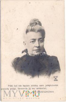 Eliza Orzeszkowa - I ćwierć XX wieku