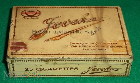 Duże zdjęcie Jeveka 25 Cigarettes Amsterdam 1895 - papierosy