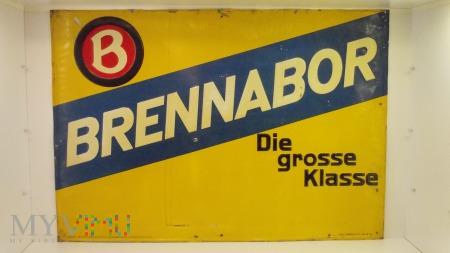 Szyld blaszany - Brennabor