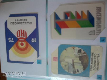 Kalendarzyki 1975