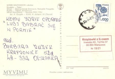 Mińsk Mazowiecki i okolice- kartka wieloobrazkowa