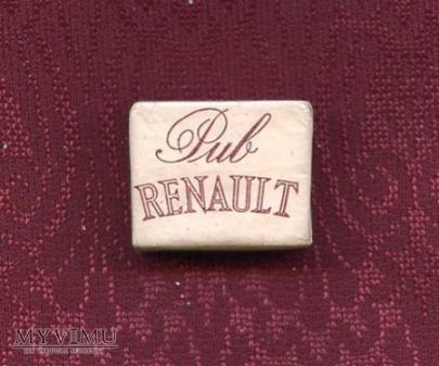 Cukier w kostkach - Paryż - Pub Renault