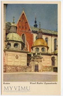 Kraków - Wawel - Kaplica Zygmuntowska lata 30-te